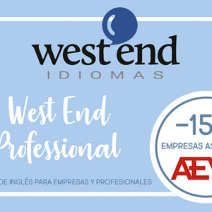 West End, Cursos de inglés