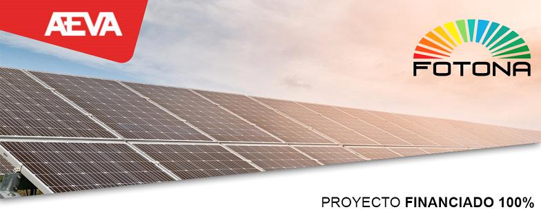 Proyecto Instalación energía solar en los polígonos del Valle de Aranguren